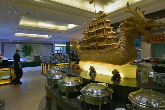 Jianguo Hotel: Breakfast buffet