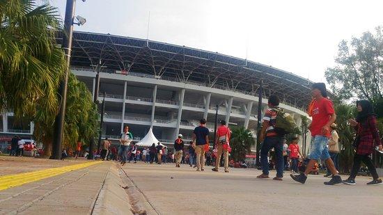GBK stadium - ジャカルタ、Gelo...
