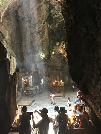The Marble Mountains: Hoa Nghiem Cave Marble Mountain
