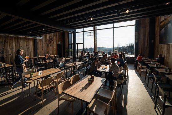 Sourbrodt, Belgium: L'espace intérieur.