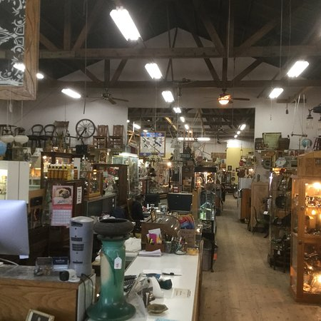 Vineyard Antique Mall: Vineyard is one of the largest and and best antique malls in the central coast area.  Great item