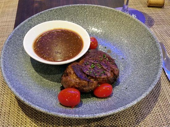 The Square Restaurant: Australian tenderloin