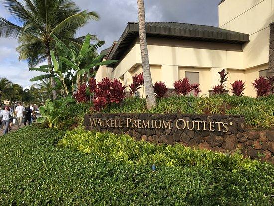 Waikele Premium Outlets: 外観です