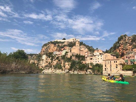 Benifallet, Hiszpania: Punto de salida con vistas espectaculares