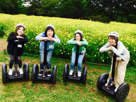Segway Guided Tours in National Showa Memorial Park