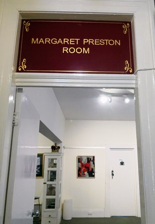 Royal Art Society of NSW: Margaret Preston room.