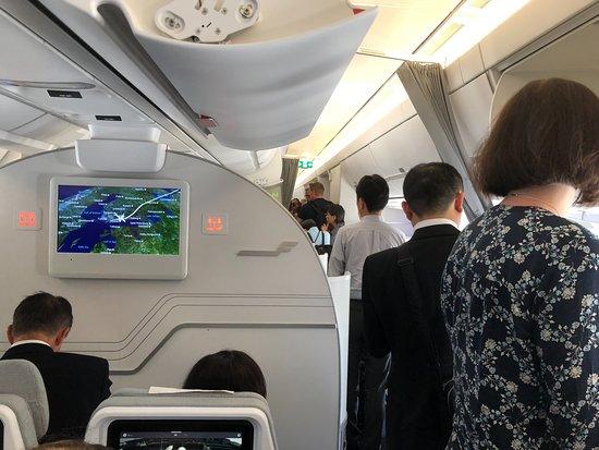 Finnair: Ankomst i Helsingfors