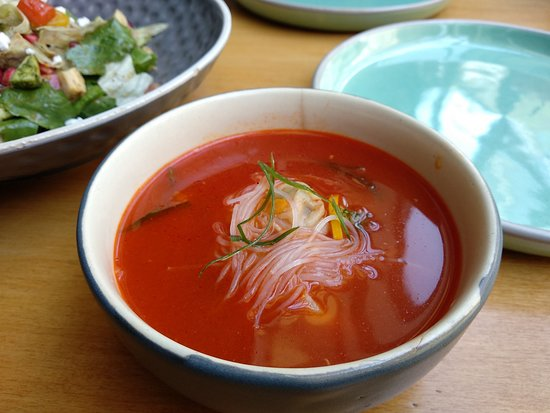 Pandora Gastronomy & Bar: Spiced Canton Broth