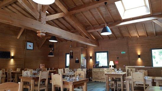 Couiza, France: salle de restaurant