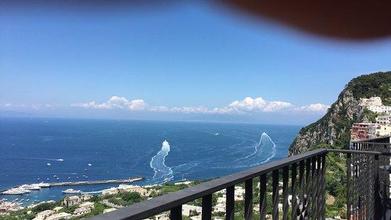 Albergo La Prora: Our balcony