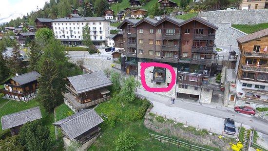 Saint-Luc, Sveits: fenêtre sur le Val d'Anniviers