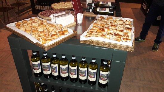 Габьяно, Италия: stuzzichini degustazione