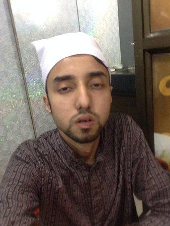 Dargah Shariff: My cousin taking a stupid selfie