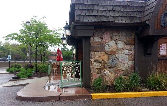 Outdoor Dining Area At Finn Mccool S