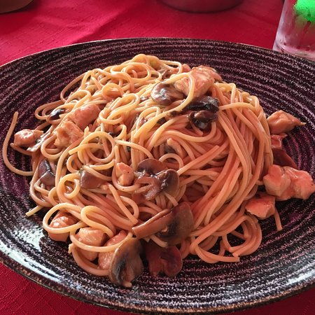 Bland pasta - large portions