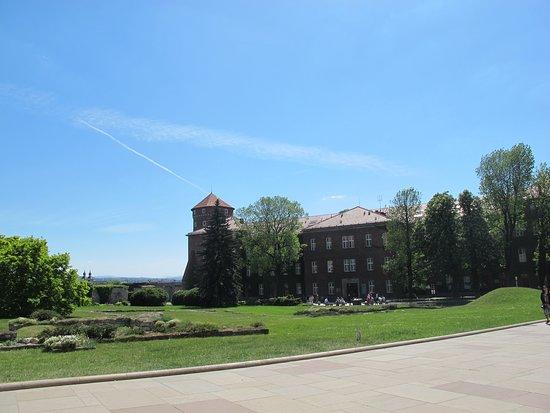 Βασιλικό Κάστρο Κρακοβίας: Внутренний двор
