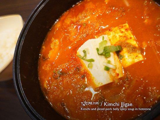 The SOJU: Kimchi Jjigae