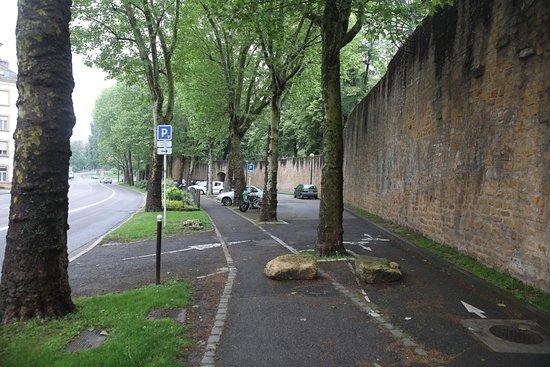 Porte des Allemands: Le parking payant