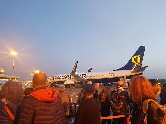 Ryanair: pronti per la partenza