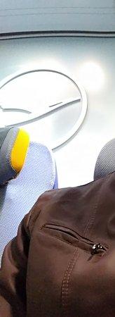Lufthansa: Last row.