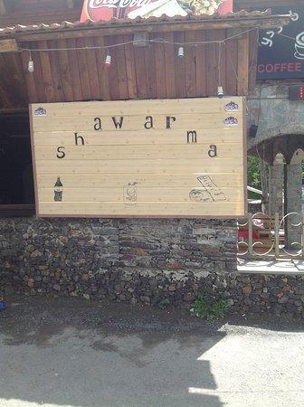 Private Day Trip to Kazbegi - Mountains - Waterfalls - Ski resort - Ananuri fort: the best shawarma !!! so yummy :)