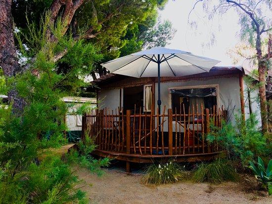 Camping La Masia: Zonas ambientadas en Africa