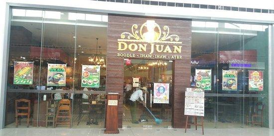 "Don Juan Boodle House SM Lemery frontage"""
