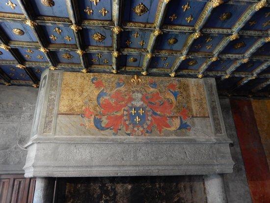 Issogne, Włochy: La sala del principe