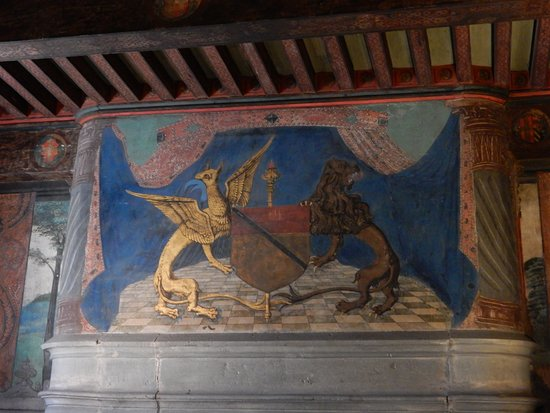 Issogne, อิตาลี: Lo stemma degli Challant