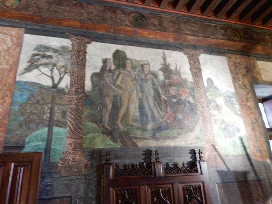 Issogne, อิตาลี: Il giudizio di Paride