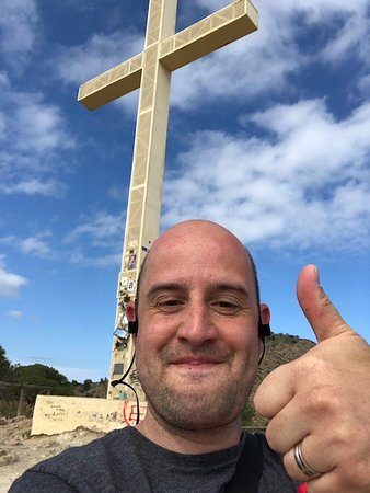 La Cruz de Benidorm: I made it!!