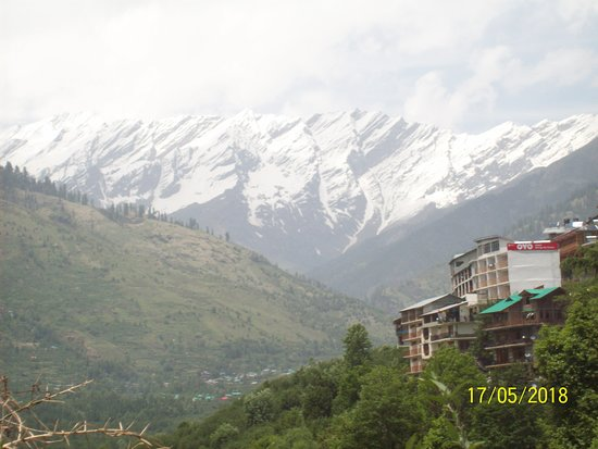 Manali Tourism Area, Indien: Picture of majestic Himalaya from Solang valley