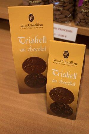 Pleyben, France: Triskell au chocolat à la Maison Chatillon