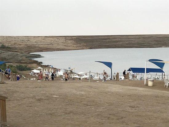 קליה, ישראל: Spiaggia del Mar Morto