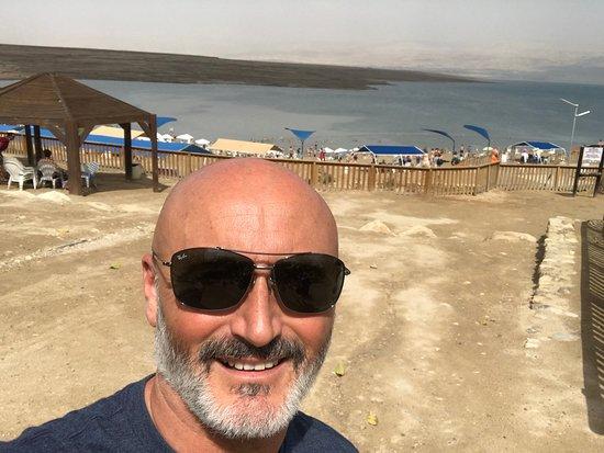 קליה, ישראל: Mar Morto Alle mie spalle!!