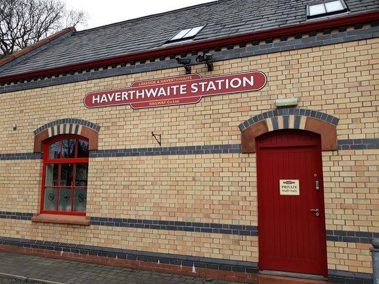Haverthwaite, UK: Station