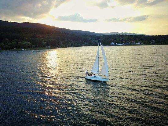 Sailwithme.bg: Sunset yacht view