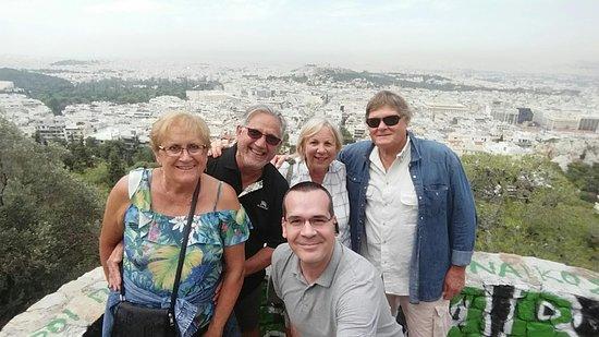 Περιήγηση στην Αθήνα με ταξί: Vue sur Athènes avec notre guide