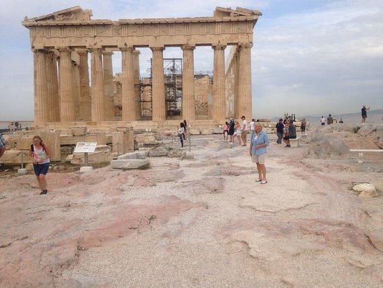 Περιήγηση στην Αθήνα με ταξί: Acropole à 8 H 30 du matin