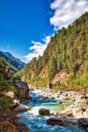 Everest Base Camp Trek: Near Phakding