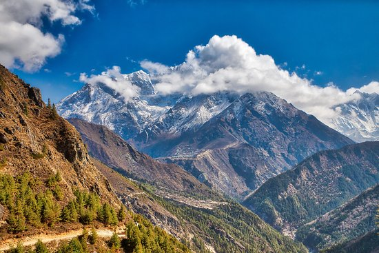 Everest Base Camp Trek: Typical trekking