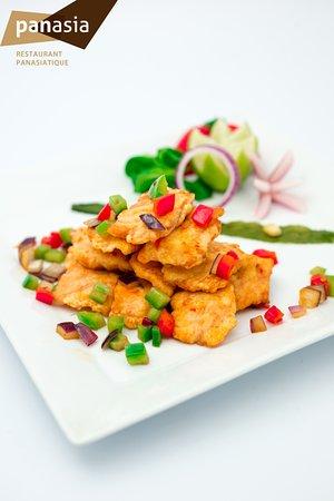 Panasia Lafayette: pavé de saumon sauté panasia