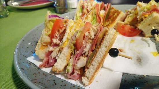 Domazlice, Czech Republic: Club Sandwich
