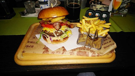 Domazlice, Czech Republic: Texas Burger