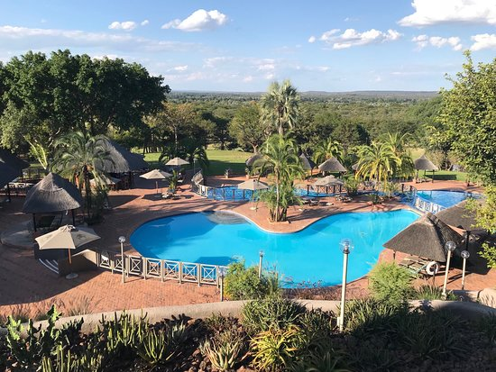 Elephant Hills Resort: View from dining area