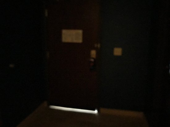 Clarion, PA: Doors cut too short allow lots of light and noise at night
