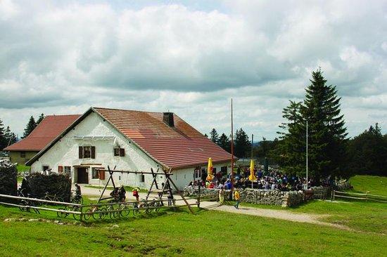 Couvet, Switzerland: Le Soliat aussen