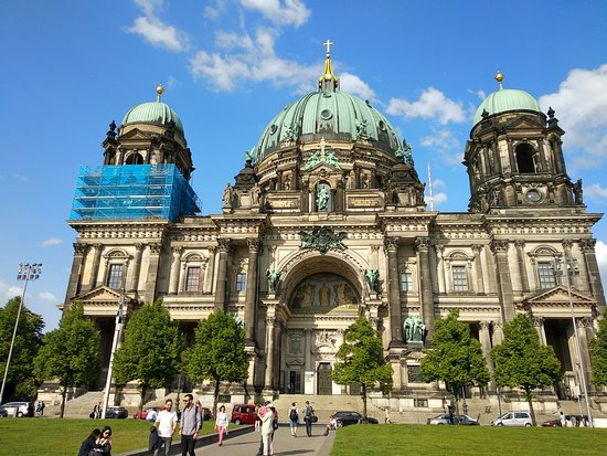 Berlin Cathedral: Fachada