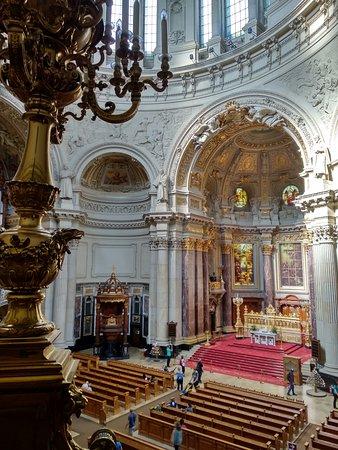 Berliner Dom: Interior desde palco