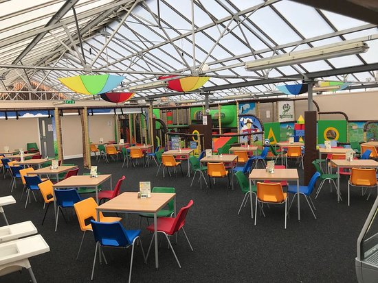 Rosebank, UK: Soft Play and Cafe